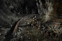 Räls i gruvan