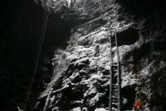 Vintergruvan med stegen