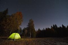 En stjärnklar kall natt
