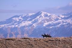 Kirgiziska ryttare