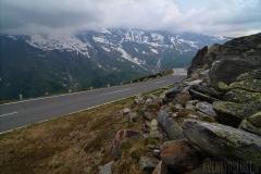 Vägen bland bergen