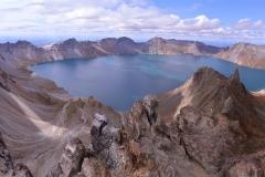 En vacker kratersjö