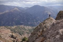 Chimgan, på toppen