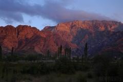 De röda bergen